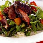 Warm Balsamic Lamb Salad